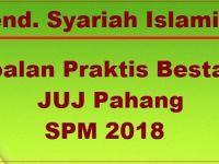 Soalan Peperiksaan Pertengahan Tahun Pendidikan Syariah islamiah Tingkatan 4 Bernilai Pendidikan Syariah islamiah soalan Bestari Juj Spm 2018 Jawapan