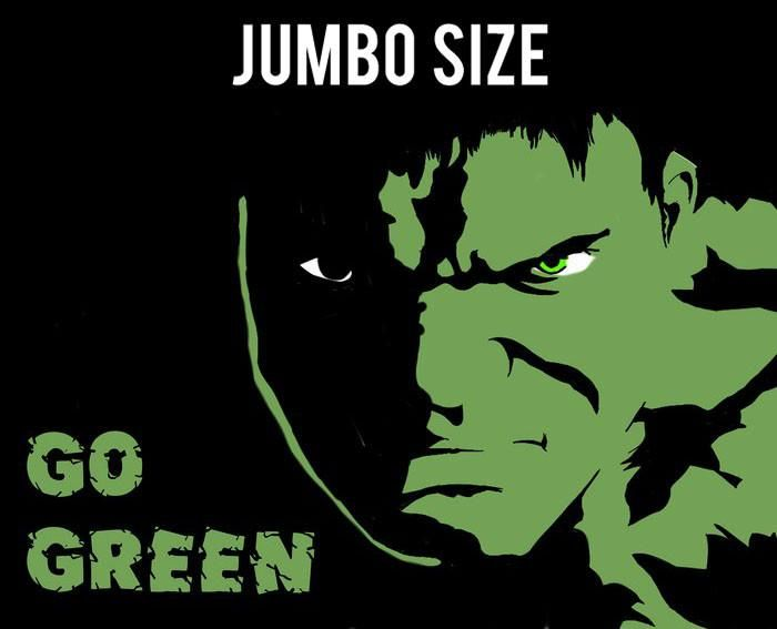 poster online shopping india go green hulk jumbo poster postergully