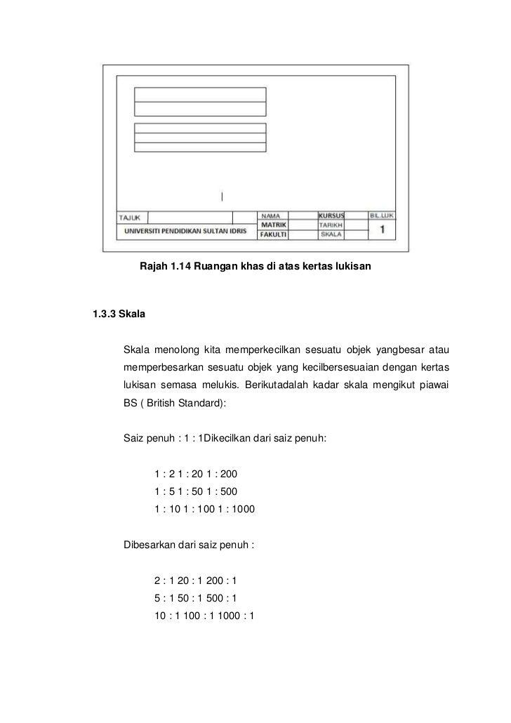 Contoh Kertas Kerja Lukisan Kejuruteraan Bernilai Blog Lukisan Kejuruteraan