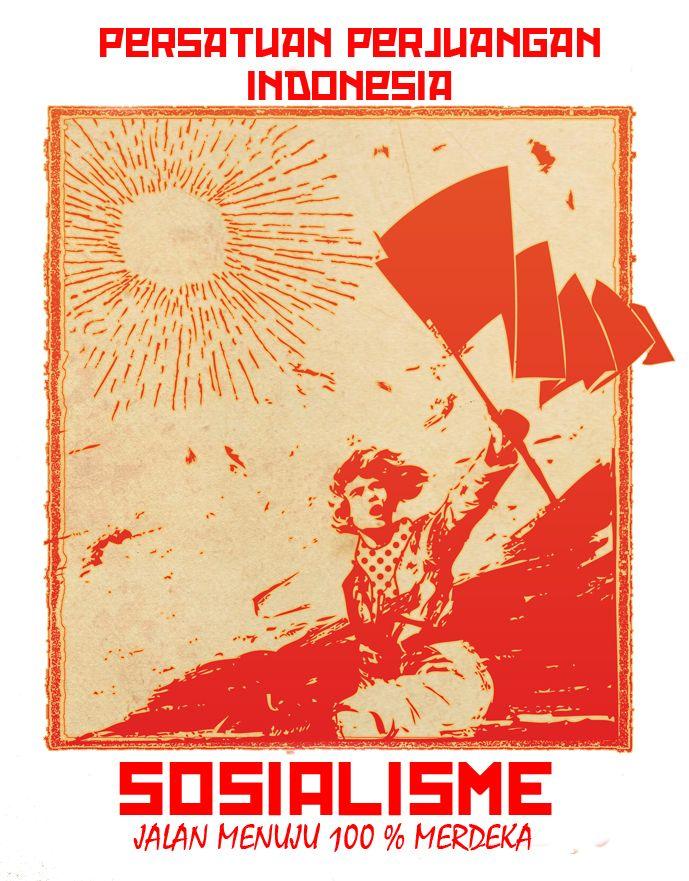 persatuan perjuangan indonesia poster