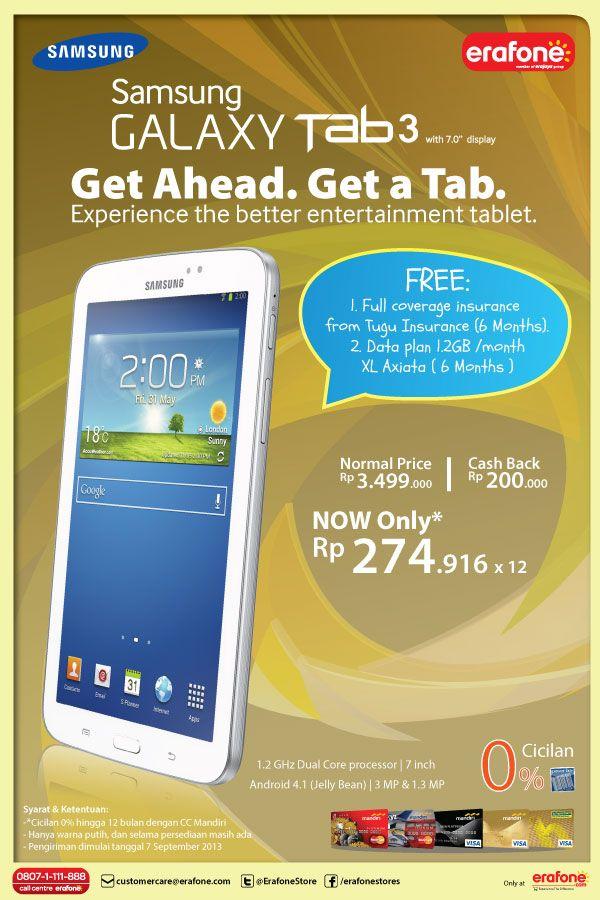 Contoh Poster Niaga Menarik Poster Harga Baru Samsung Galaxy Tab 3 7 0 Inch Rp 3 299 000