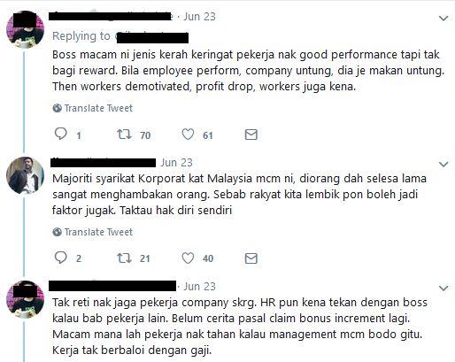 komen netizen ini ada betulnya sesetengah syarikat sengaja menawarkan gaji yang rendah kerana keperluan kepada pekerjaan yang mendesak akan membuatkan