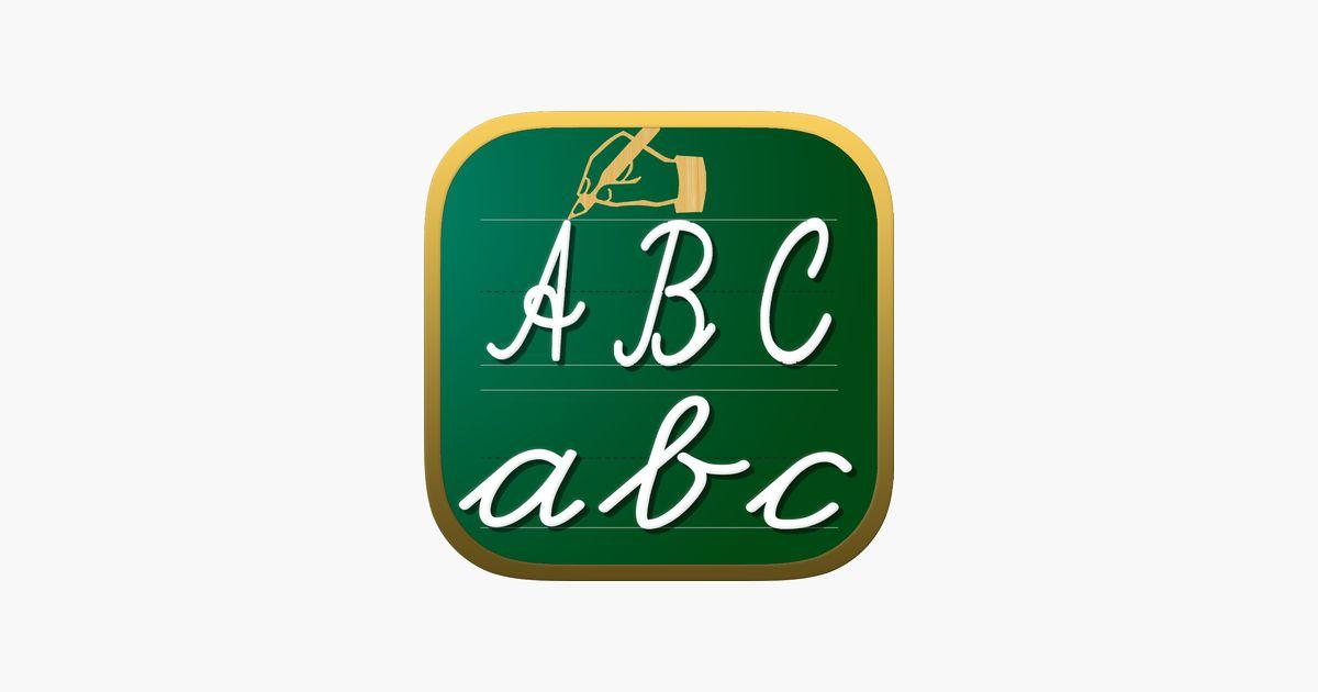 tulisan lembaran kerja abc 123 permainan pendidikan untuk kanak kanak belajar menulis huruf huruf abjad dalam skrip dan cursive di app store
