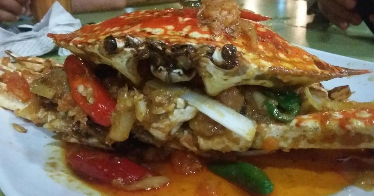 aimi syahirah marvelousmisya melantak ketam telur masin di sara thai seafood