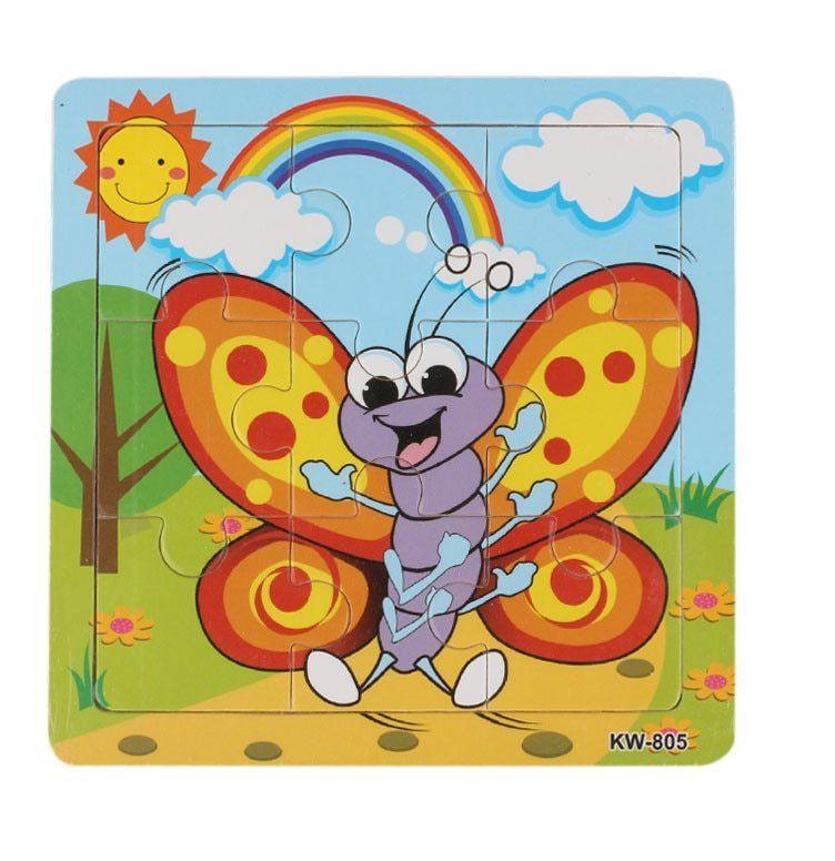 new fashion lebah madu kayu teka teki jigsaw toys untuk anak anak pendidikan dan belajar toys kualitas tinggi babys hadiah hot sale