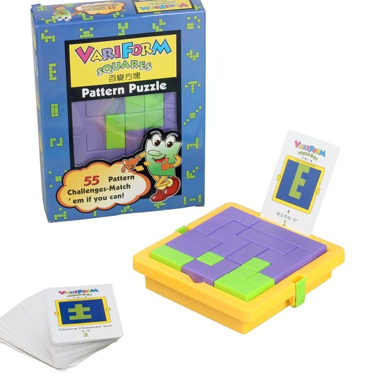 prasekolah mainan awal pendidikan berbagai puzzle 55 menantang bermain kartu puzzle teka teki otak permainan perkembangan intelektual