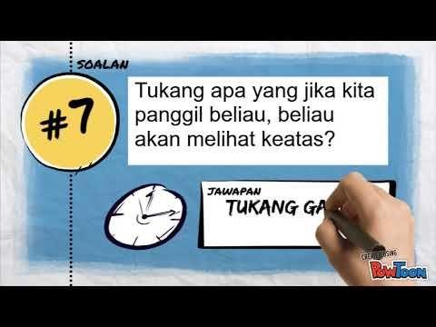 teka teki lucu lawak rakyat malaysia part 1 a gembira edutv