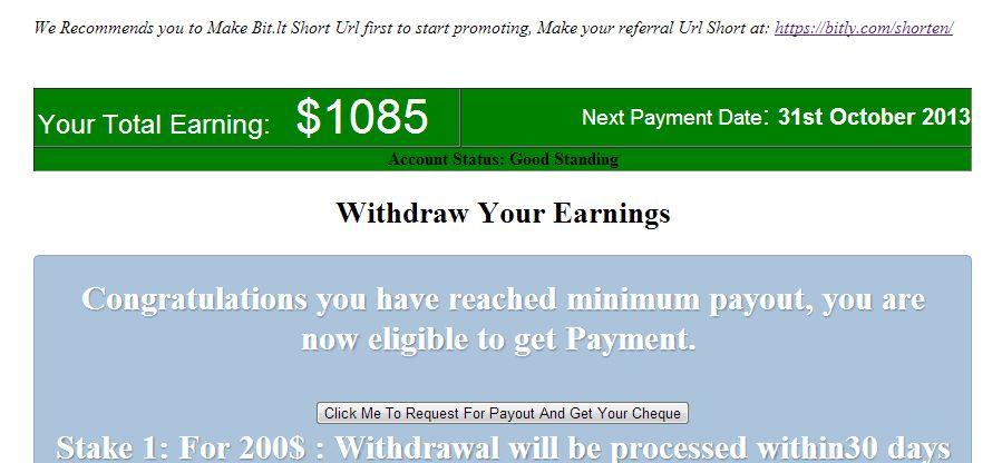 ingat lagi pasal pos sebelum ni pasal startmonthlyjob com saya dah cuba buang masa dalam 3 hari nak tengok betul ke tipu web ni bawah ni gambar income