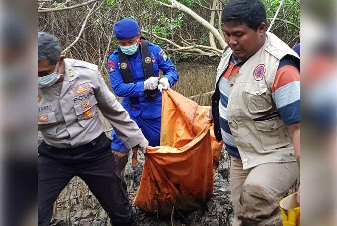 penemuan mayat wanita tanpa kepala hutan mangrove