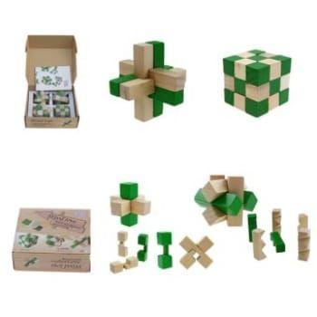 jual beli 4 pcs set luban kunci teka teki permainan asah otak mainan edukasi
