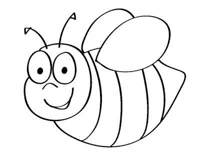 Gambar Mewarna Kartun Berguna Aneka Gambar Mewarnai Gambar Mewarnai Lebah Untuk Anak Paud Dan Tk