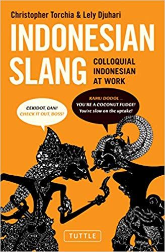 indonesian slang colloquial indonesian at work christopher torchia lely djuhari 9780804842075 amazon com books