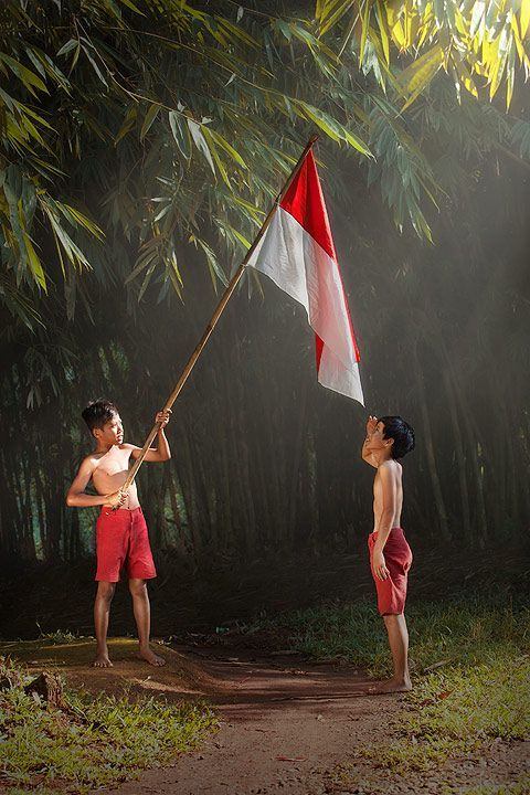 Indonesia Independence Day Poster Penting Dirgahayu Republik Indonesia Editan Pinterest Indonesia