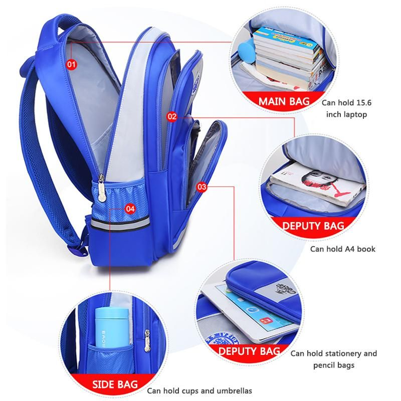 e kuizai high quality boy school bags backpack for boys waterproof nylon school bags children backpacks
