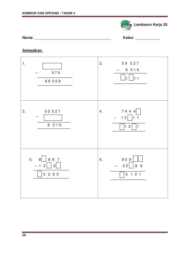 Kuiz Matematik Tahun 3 Penting Cara Mengajar Matematik Sekolah Rendah Brad Erva Doce Info