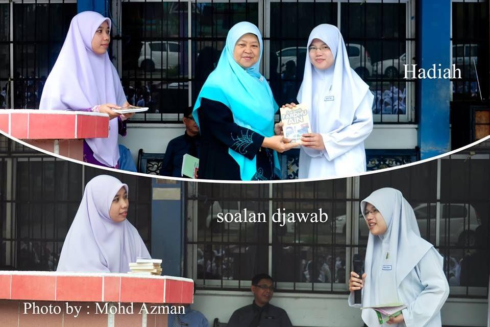 setiap hari jumaat program kuiz ramadhan ini dikelolakan oleh ustazah marliah ustazah alina dan ustazah nurliayana