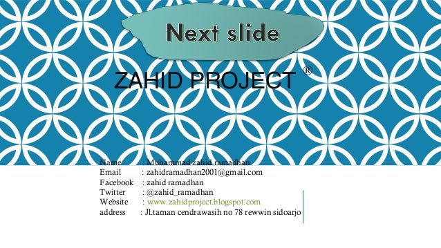 zahid project a name muhammad zahid ramadhan email zahidramadhan2001 gmail com facebook