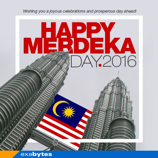 Merdeka Poster Hebat Happy Merdeka Happy Holiday Exabytes Blog
