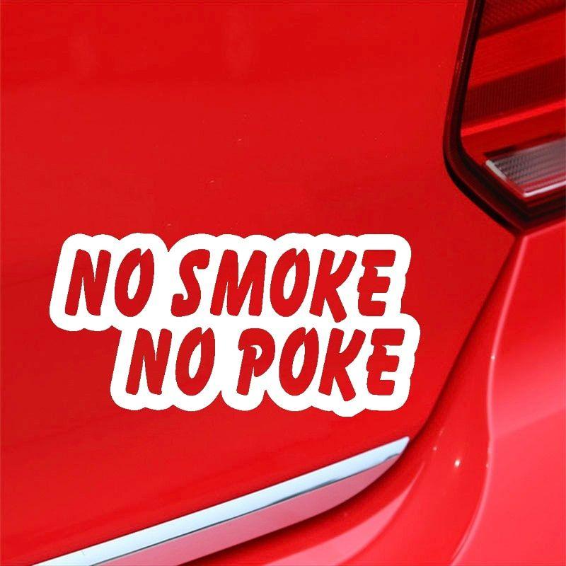 No Smoking Poster Terhebat Car Styling No Smoke No Poke Car Sticker Diesel Dirty Truck 4×4 Off