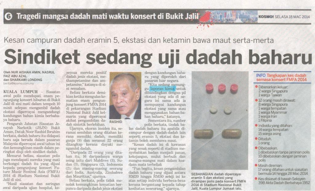 Peraduan Teka Silang Kata Berita Harian Baik Siaran Akhbar 2014 Jabatan Kimia Malaysia