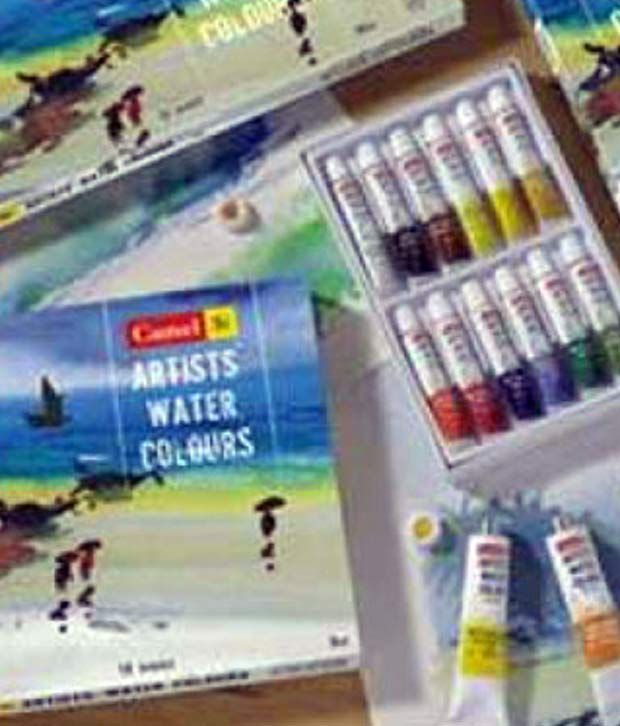 camlin artists water colours box 70 m 18 18 shades