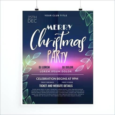 party poster design templates christmas party ticket template free design vector material download party poster