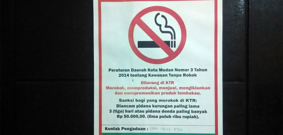 kantor kejaksaan negeri medan sebagai kawasan tanpa rokok ktr terhitung mulai oktober 2016