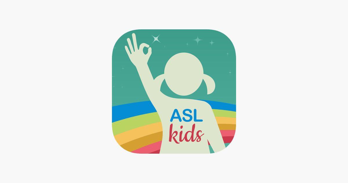 asl kids sign language di app store