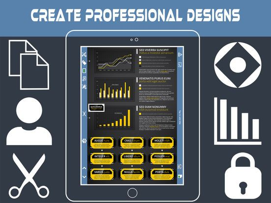 screenshot 4 for infographic and poster creator