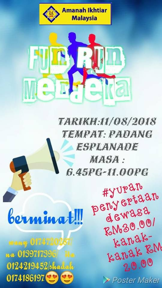 event fun run merdeka 2018