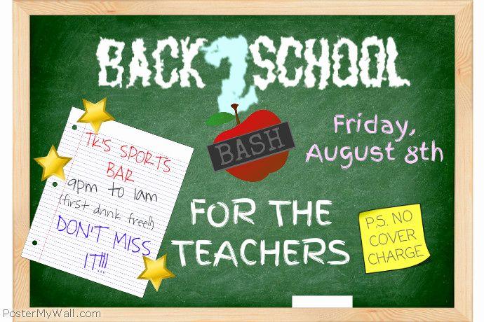 teacher appreciation flyer template school teacher flyer template postermywall