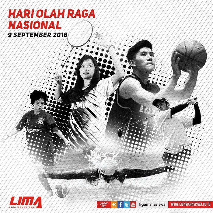 Poster Olahraga Meletup Liga Mahasiswa On Twitter Selamat Hari Olah Raga Nasional Ayo