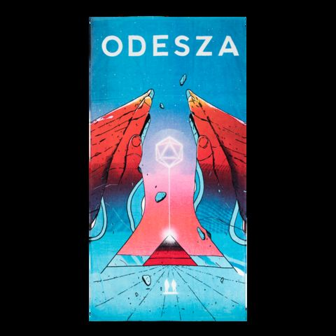 Poster Paskah Meletup A Moment Apart Cover Art Poster Odesza