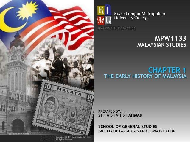 Poster Pengajian Hebat Pengajian Malaysia Bab 1