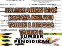 Rpt Bahasa Melayu Tahun 6 Penting Koleksi Ujian Mac Oti 1 Bahasa Melayu Tahun 1 Hingga Tahun 6