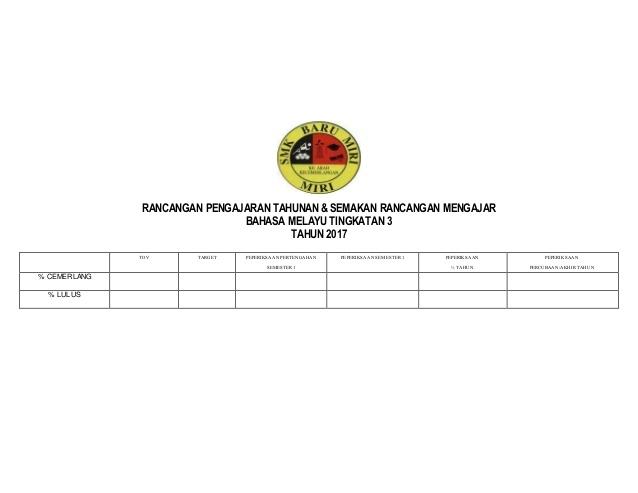 Rpt Bahasa Melayu Tingkatan 3 Meletup Rancangan Pengajaran Tahunan Bm Tingkatan 3 2017 D Of Download Rpt Bahasa Melayu Tingkatan 3 Yang Menarik Khas Untuk Murid Perolehi!
