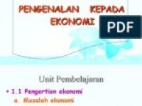 Rpt Ekonomi Tingkatan 4 Berguna Nota Ekonomi Tingkatan 4 Bab 3
