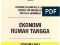 Rpt Ekonomi Tingkatan 4 Bermanfaat Rancangan Pengajaran Tahunan Ekonomi Rumah Tangga Ert