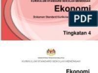 Rpt Ekonomi Tingkatan 4 Bermanfaat Rpt Ekonomi 2017 Ting 4