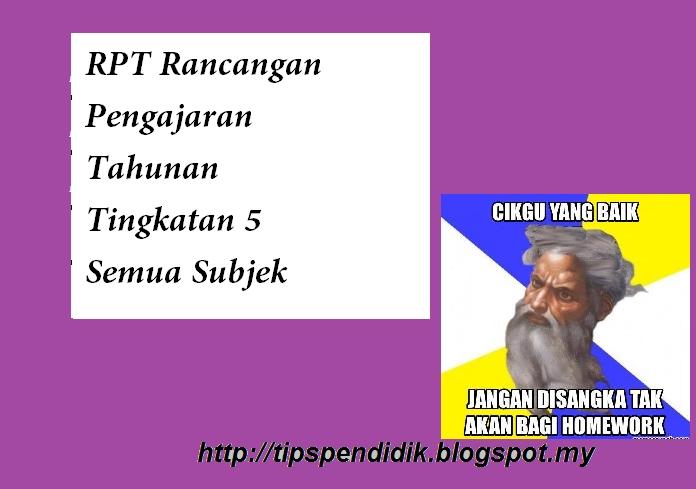 Rpt Fizik Tingkatan 5 Terhebat Rpt Rancangan Pengajaran Tahunan Tingkatan 5 Semua Subjek Jabatan Of Download Rpt Fizik Tingkatan 5 Yang Power Khas Untuk Guru-guru Dapatkan!