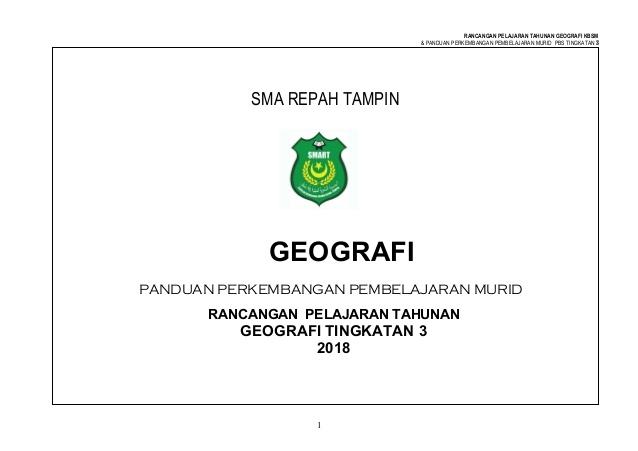 Rpt Geografi Tingkatan 3 Baik Rpt Geografi Tingkatan 3 2018