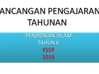 Rpt Pendidikan islam Tahun 6 Menarik Rancangan Pengajaran Tahunan Pendidikan islam Tahun 6 Kssr Pendidik2u