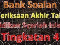 Rpt Pendidikan Syariah islamiah Tingkatan 4 Bernilai Bank soalan Peperiksaan Akhir Tahun Pendidikan Syariah islamiah