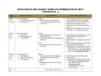 Rpt Pertanian Tingkatan 5 Penting Rancangan Tahunan Tingkatan 5 2017