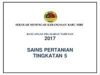 Rpt Pertanian Tingkatan 5 Terbaik Rpt Spn 2017