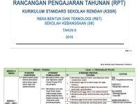 Rpt Reka Bentuk Teknologi Tahun 6 Menarik Rpt Kssr Tahun 6 Reka Bentuk Dan Teknologi Rbt Docx