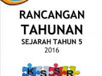 Rpt Sejarah Tahun 5 Bernilai Download Rancangan Tahunan Sejarah Tahun 5 2016 Blog Sejarah Rendah