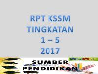 Rpt Sejarah Tingkatan 4 Bernilai Rpt Kssm Tingkatan 5 2017 Sumber Pendidikan