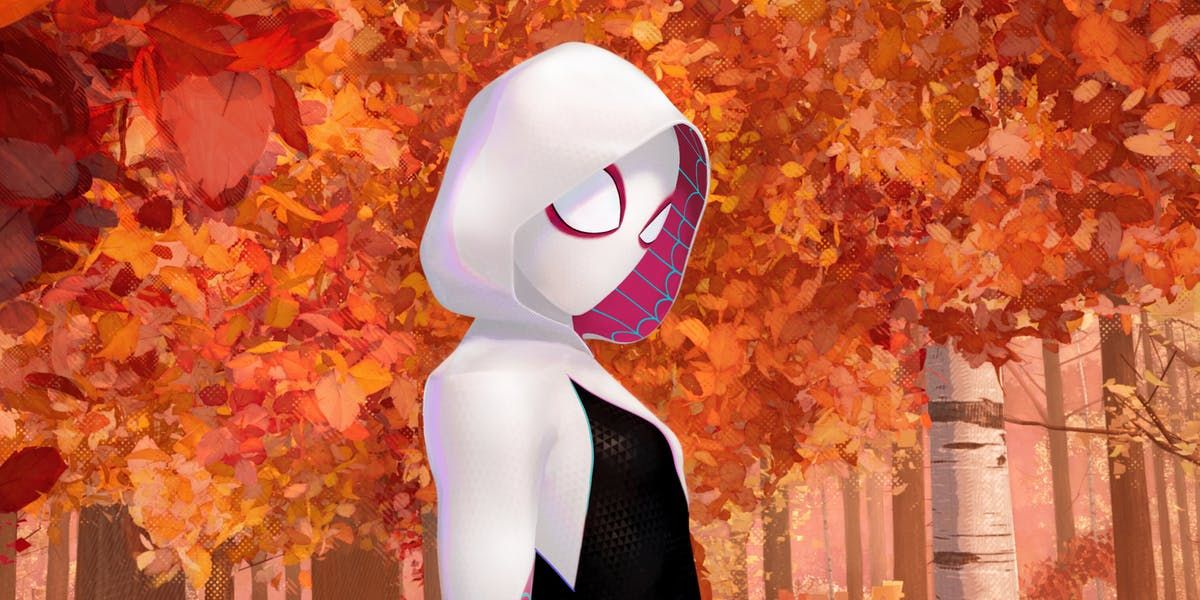 spider man into the spider verse the best spidey film plus spider gwen inverse