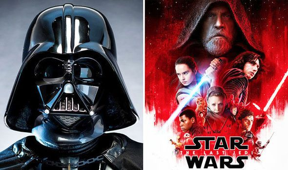 star wars 8 shock is darth vader hidden in the last jedi poster